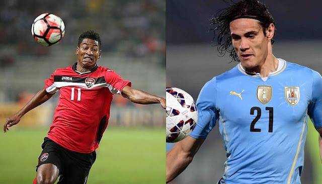 Uruguay vs Trinidad y Tobago en vivo