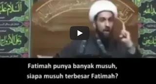 Syiah Menuduh Umar RA Membunuh Fahimah RA