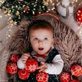 Święta, święta i po świętach - dziecięca fotograficzna sesja świąteczna