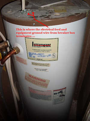 Intertherm Water Heater Hse 30f 240s Thermostat Heating