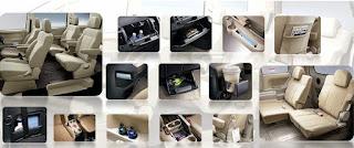 Fitur Mitsubishi Delica Royal