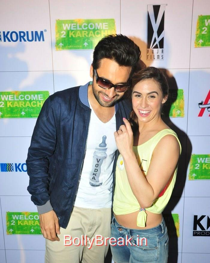 Jackky Bhagnani, Lauren Gottlieb, 'Welcome To Karachi' Promotion at Korum Mall