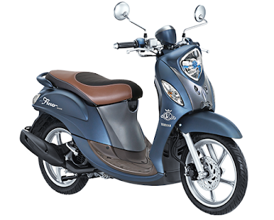 yamaha fino 125 blue core