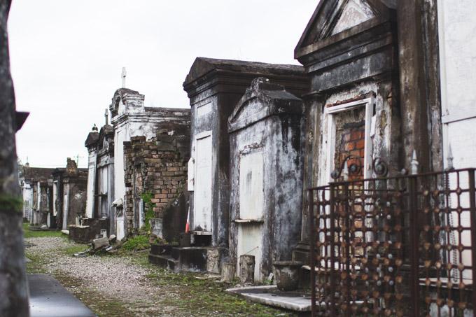 St. Louis Cemetery No. 2, cemetery, mausoleum