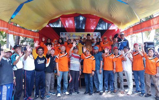 Ratusan Alumni SMP Batangmata, Ikuti Gerak Jalan Santai