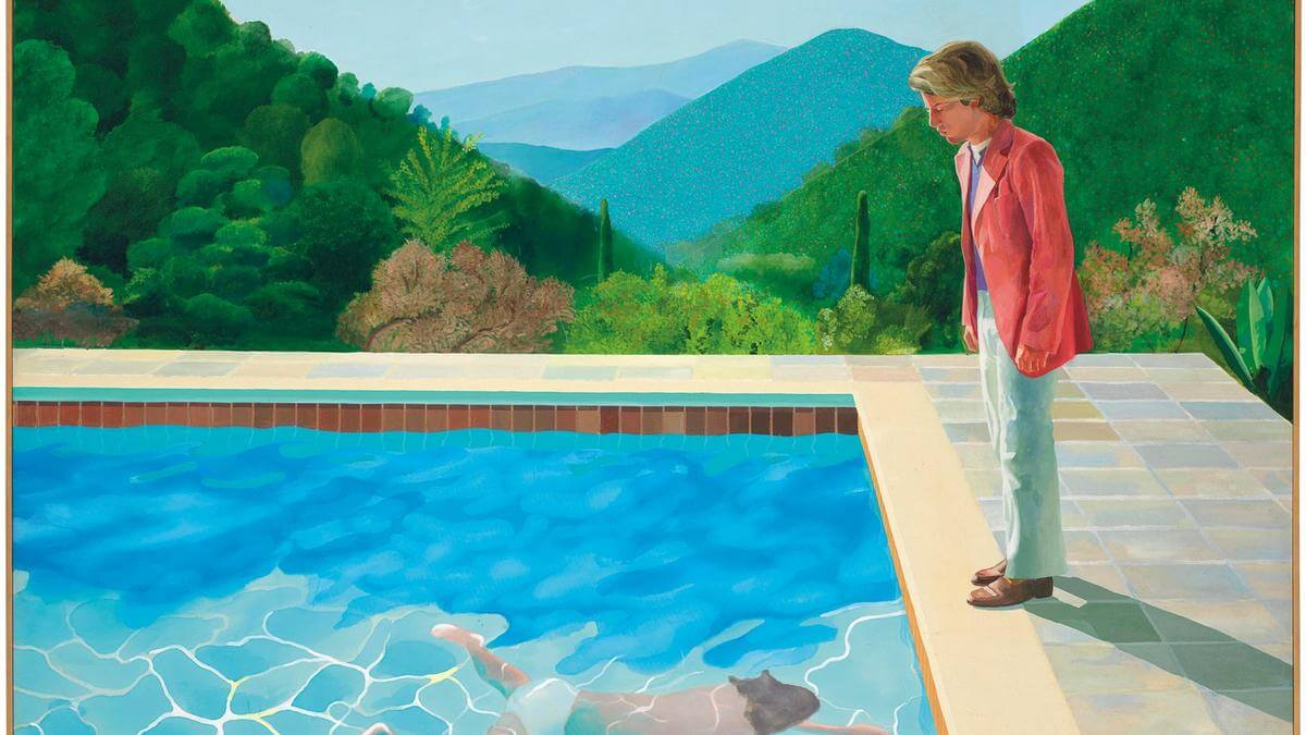 David Hockney Painting Sells For $90 Million Breaks Auction Record For Living Artist