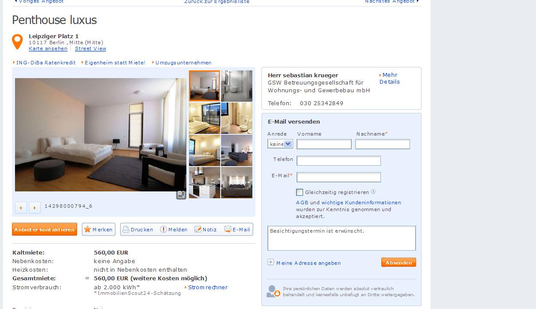 3 Zimmer Wohnung Berlin Mitte Mieten.3 Zimmer Wohnung ...