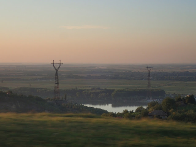 Dunaj rozdziela Rumunię i Bułgarię