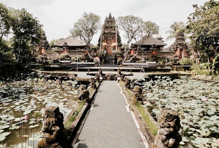 pałac królewski Puri Saren Ubud Bali