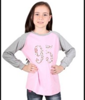 baju casual untuk anak perempuan 12 tahun