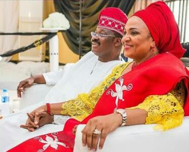 Please Forgive My Husband - Governor Ajimobi's Wife