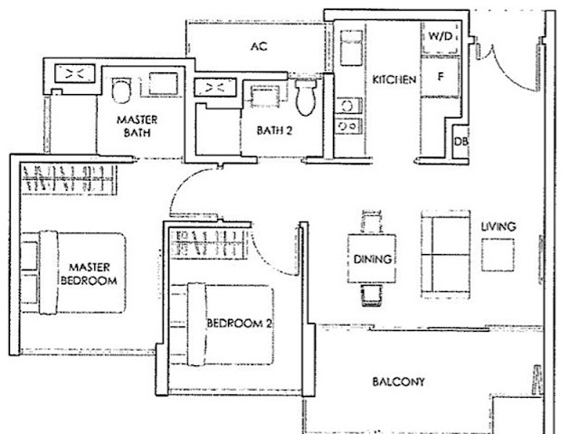 Forestwood Residences Floor Plan 1