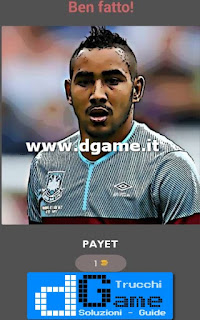 Soluzioni Football Player - Guess Quiz livello 9