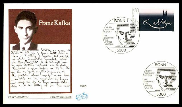 Franz Kafka Germany FDC