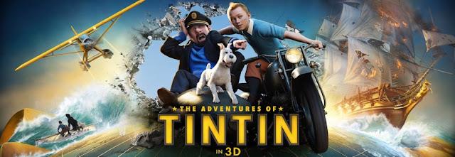"""News: Foi confirmado o filme """"As Aventuras de Tintim"""" # 2. 6"""