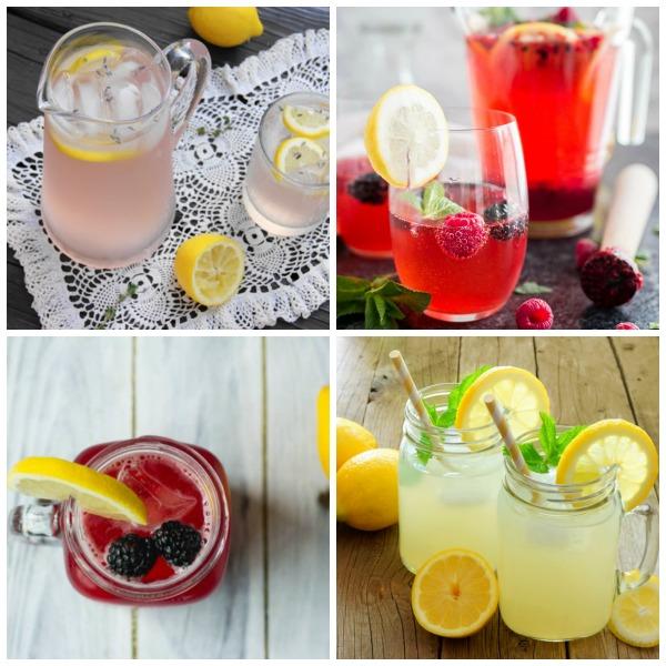 10 Homemade Lemonade Recipes
