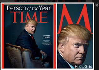 Trump's Time Magazine cover photo