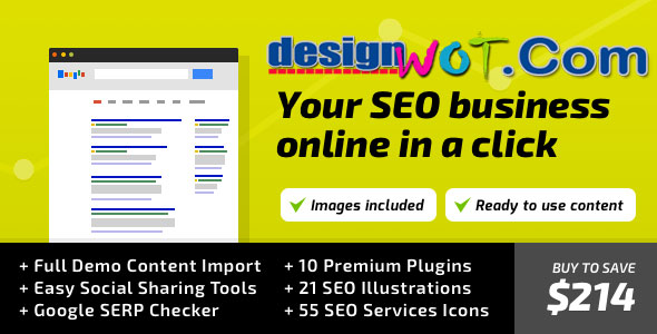 SEO WP Online Marketing SEO Social Media Agency WordPress Theme