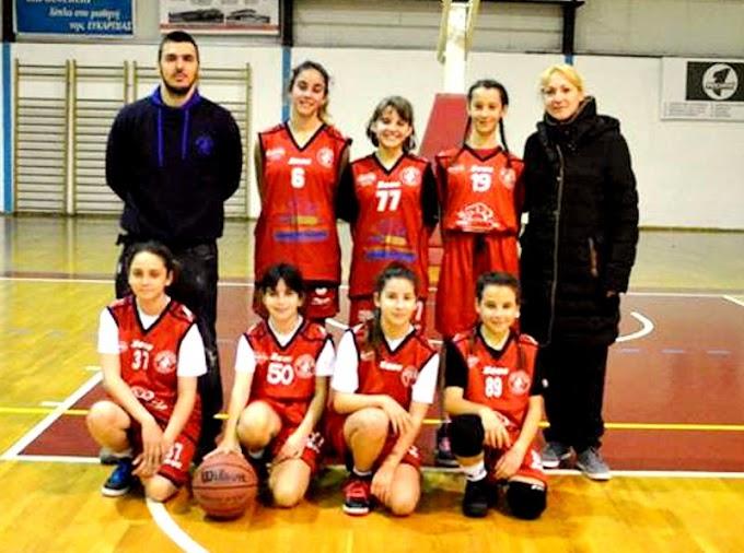 Πρεμιέρα με εκτός έδρας ήττες για τα «μικρά» κορίτσια του ΠΚ Νεάπολης