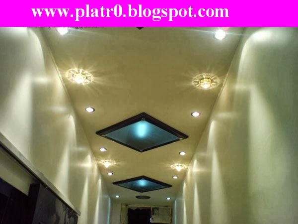 Faux Plafond 2014 Moderne Couloir 2014 - Décoration Platre ...