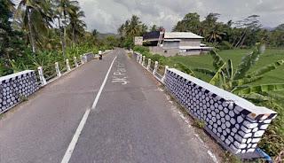 Jembatan 1 Barat Damas Hadiwarno Pacitan