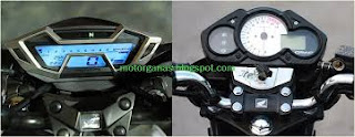 Speedo meter old cb15r vs all new cb150r