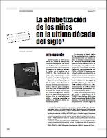 la alfabetizaCION_FERREIRO