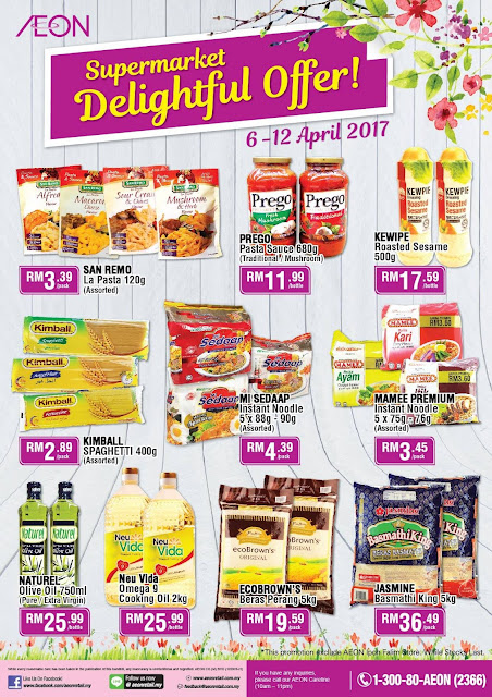 AEON Store Supermarket Delightful Offer