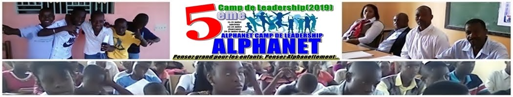 Alphanet Camp de Leadership Sciences et Technologies LCamp2019
