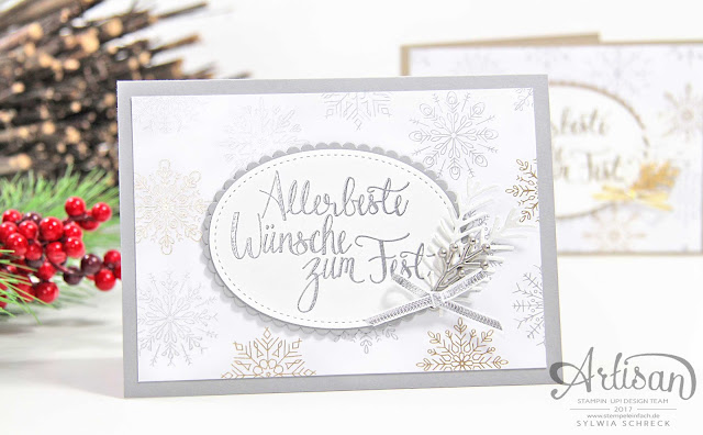 Stampin Up Designerpapier Winterfreuden