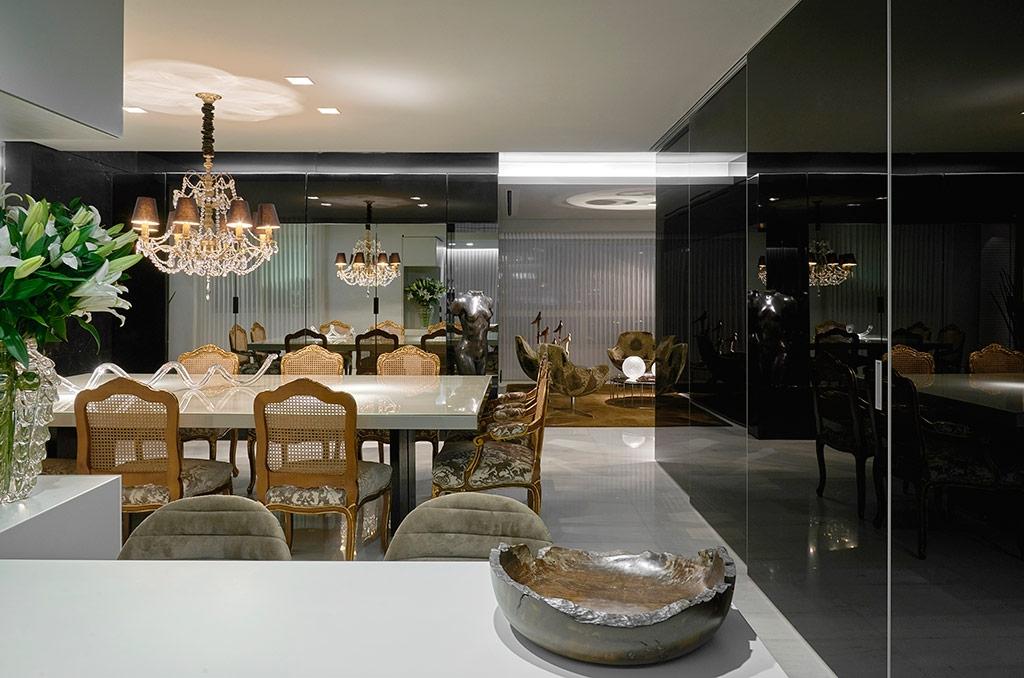 Sala De Jantar E Estar Integradas ~  sala de jantar0001 # decoracao de cozinha integrada a sala de jantar