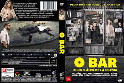 Filme O Bar (El Bar) DVD Capa