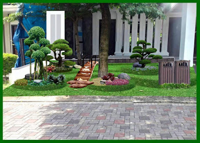 Tukang Taman Surabaya Desain Taman Minimalis Terbaru