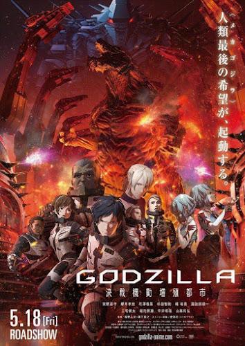 Godzilla: City on the Edge of Battle (Web-DL 720p Dual Japones / Ingles) (2018)