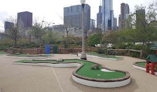 City Mini Golf at Maggie Daley Park in Chicago