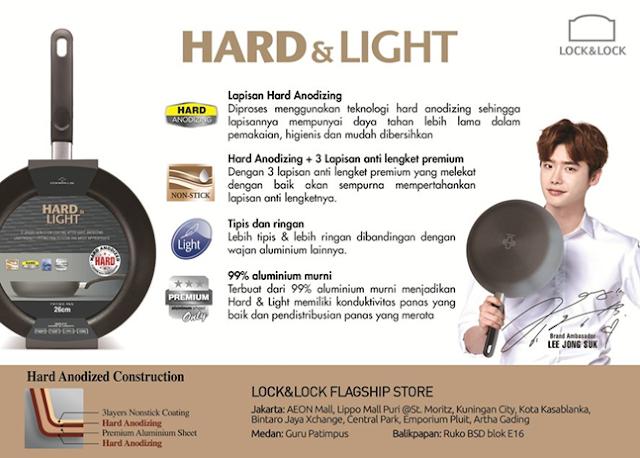Lock & lock Hard & Light