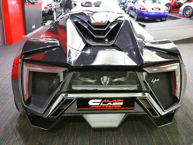 W Motors Lykan Hypersport Al Ain Class Motors Dubai