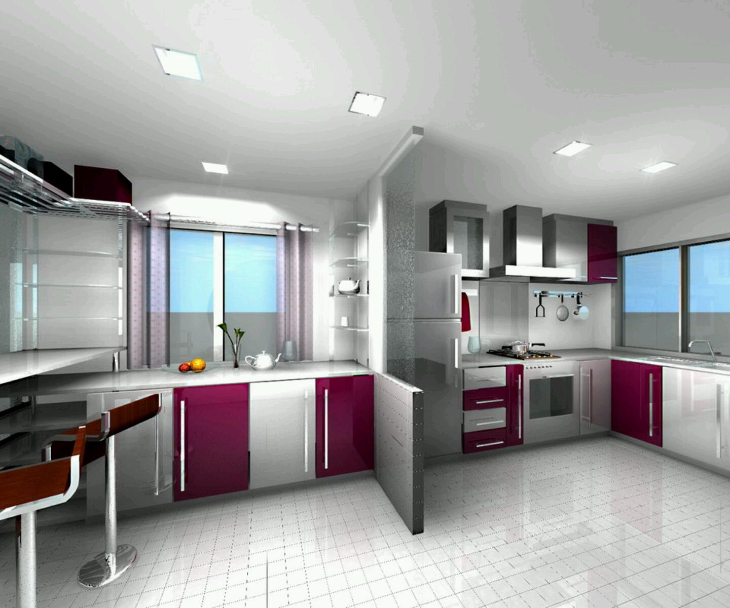 New home designs latest.: Modern homes ultra modern ... on Modern Kitchen Design Ideas  id=63886