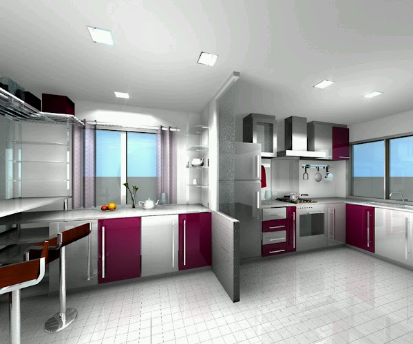 25 Beautiful Modern Home Kitchen Designs