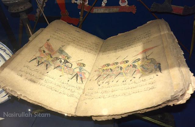 Ada naskah kuno juga di sini
