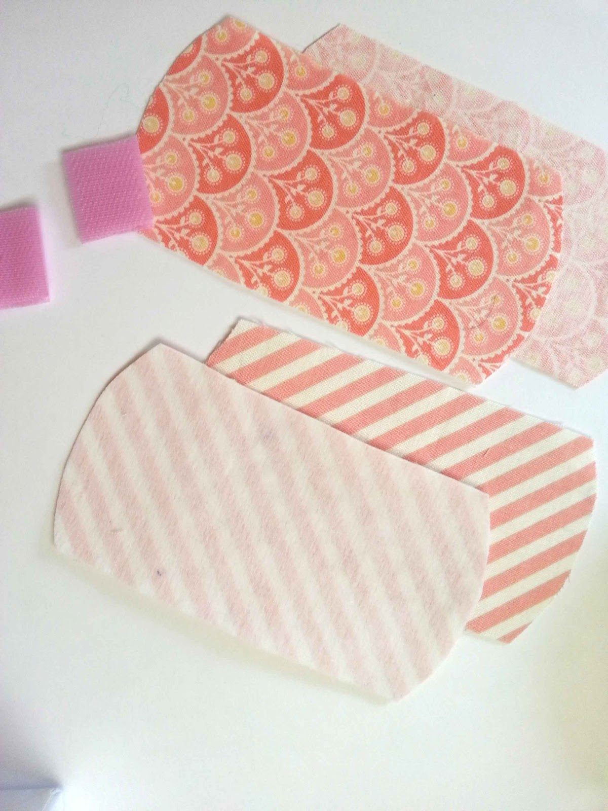 Print off the Cord Keeper Template. Apply medium weight fusible interfacing  to the back of one piece of scrap fabric. Cut one piece of interfaced  fabric ...
