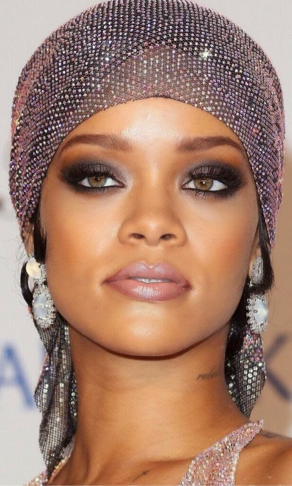 makeup rihanna cfda 2014 inspired makeup look makeup