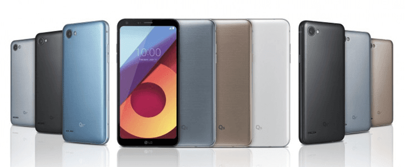 LG Launches Q6, Q6+ And Q6α FullVision Ready Midrangers