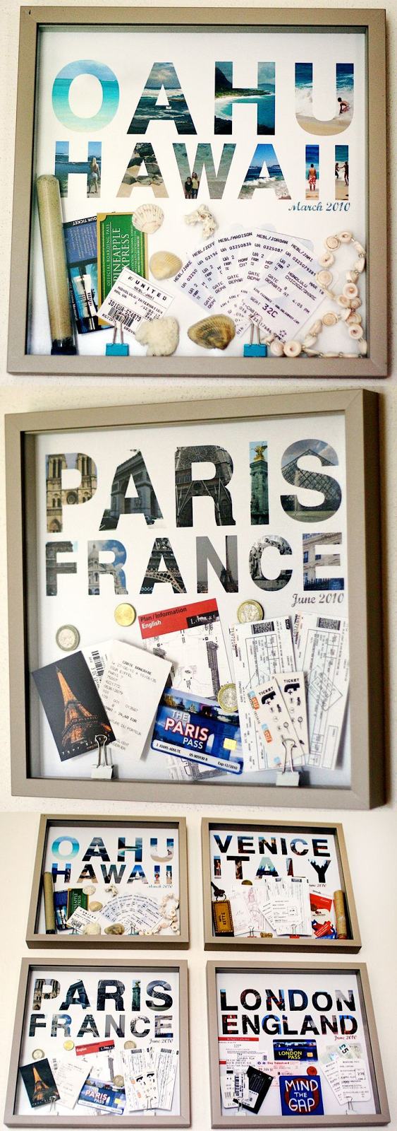 travel boards DIY