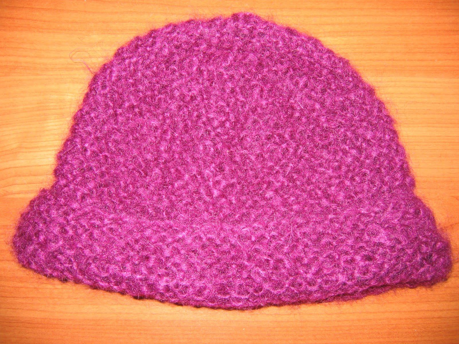 cb6193f21150 Modèle gratuit d un bonnet facile ! - Des Tricots Tres Mimie