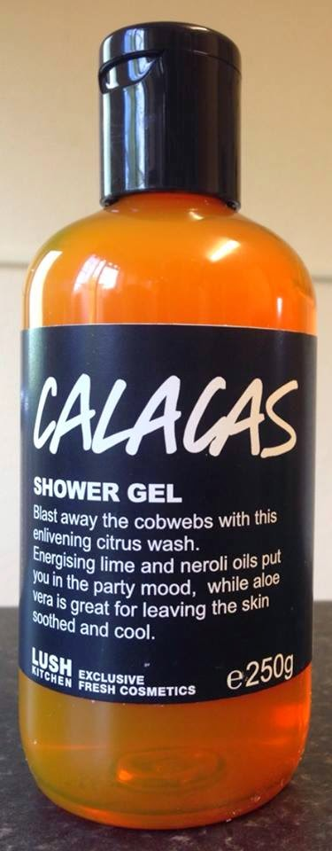 All Things Lush UK: Calacas Shower Gel