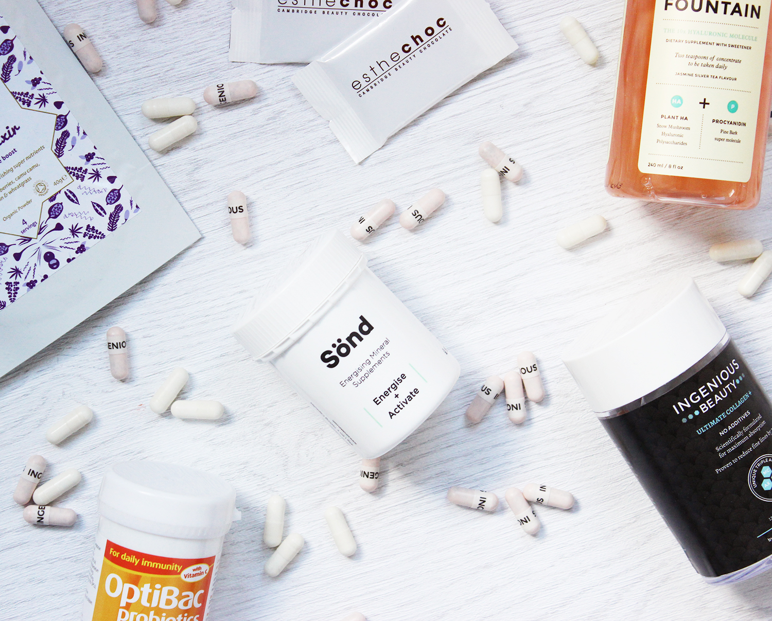 Beauty from within - supplements for healthier skin