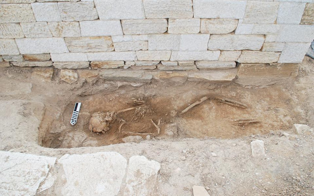 Skeleton of worker from 550 BC found on Cycladic island of Despotiko