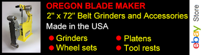 Oregon Blade Maker Belt Grinder Accessories