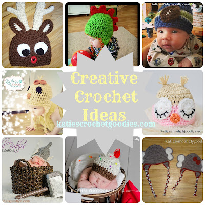 creative crochet hats